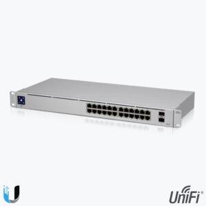 Product: USW-24-GEN2 - Ubiquiti UniFi Switch 24 - GEN2. Verkocht door Keysoft-Solutions - Hoofdafbeelding