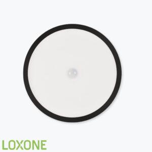 Product: 100287 - Loxone LED Plafondlamp RGBW Air Antraciet. Verkocht door Keysoft-Solutions - Hoofdafbeelding