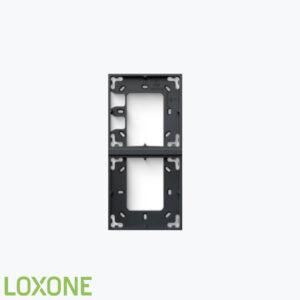 Product: 100490 - Loxone Montageframe Dubbel Antraciet. Verkocht door Keysoft-Solutions - Hoofdafbeelding