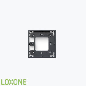 Product: 100488 - Loxone Montageframe Enkel Antraciet. Verkocht door Keysoft-Solutions - Hoofdafbeelding