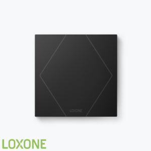 Product: 100464 - Loxone Touch Pure Air Antraciet. Verkocht door Keysoft-Solutions - Hoofdafbeelding