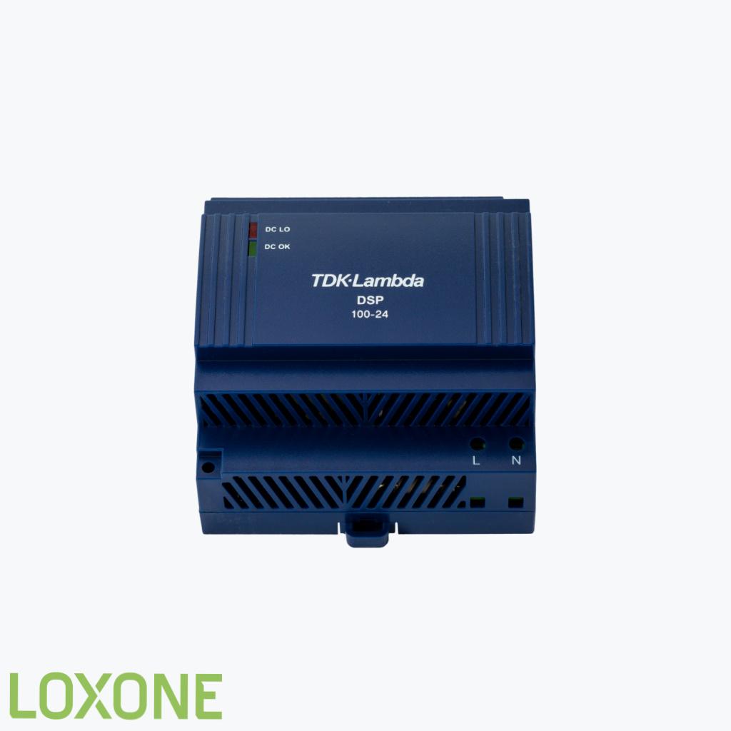 Product: 200002 - Loxone Voeding 24V 4,2 A. Verkocht door Keysoft-Solutions - Hoofdafbeelding