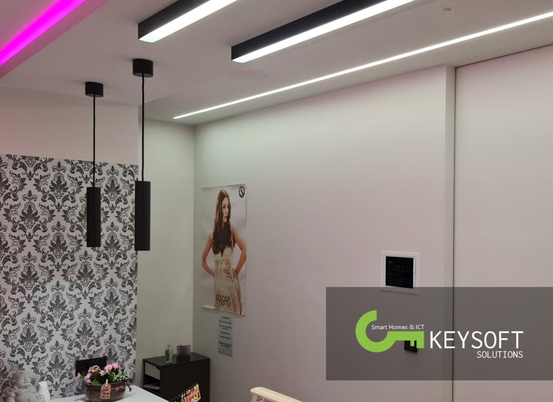 Keysoft-Solutions Smart Home Project - Hair & Beauty Lounge - Afbeelding 1