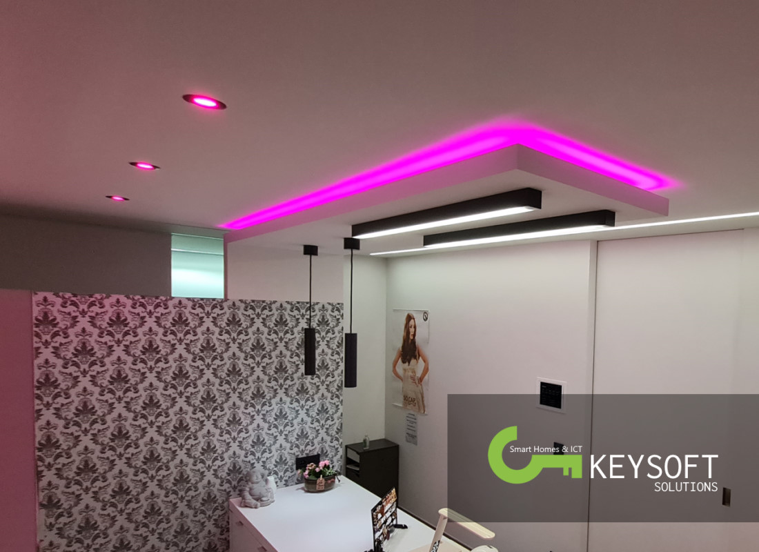 Keysoft-Solutions Smart Home Project - Hair & Beauty Lounge - Afbeelding 3