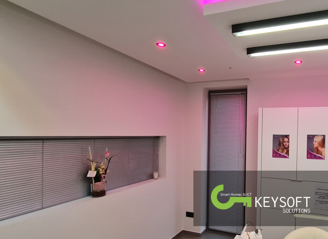 Keysoft-Solutions Smart Home Project - Hair & Beauty Lounge - Afbeelding 4