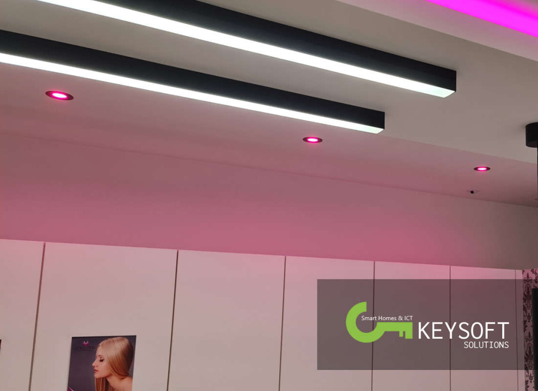 Keysoft-Solutions Smart Home Project - Hair & Beauty Lounge - Afbeelding 6