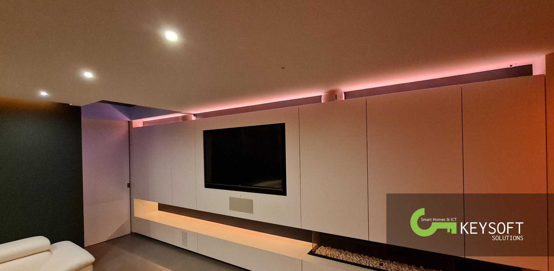 Keysoft-Solutions Smart Home Project - Woonhuis Geluwe - Hoofdafbeelding