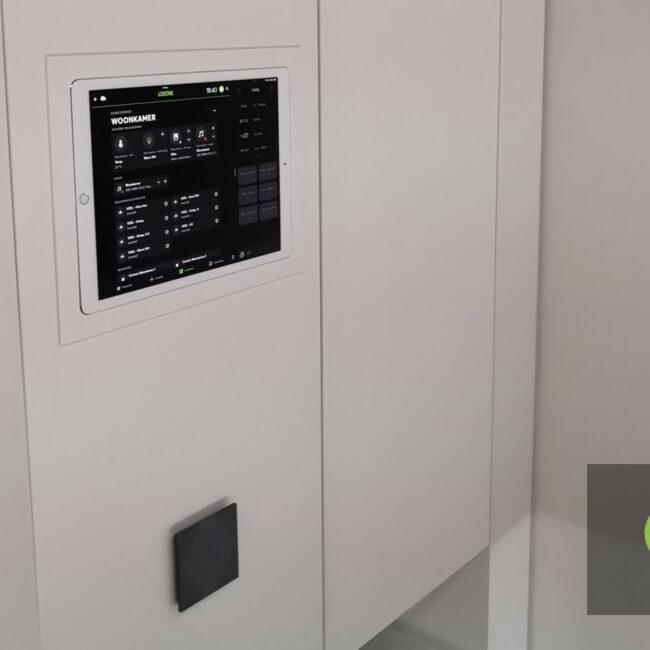 Keysoft-Solutions Smart Home Project - Woonhuis Visualisatie - Hoofdafbeelding