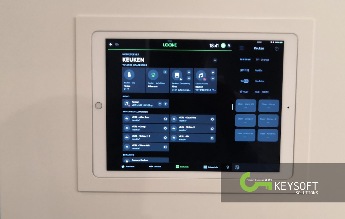 Project Woning Geluwe - Loxone Smart Home - Visualisatie - Foto 6