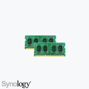Product: RAM1600DDR3L-4GBx2 - Synology 8GB DDR3L SODIMM 1600 MHz (2x4GB) . Verkocht door Keysoft-Solutions - Hoofdafbeelding